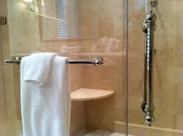 Shower Door Towel Bar Replacement Parts Towel Bar For Glass Shower Door Bathroom Design Ideas