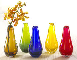 Vase Sets Colored Glass Vase Set The Museum Shop Of The Art Institute Of