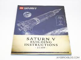 37 best instruction manual designs review lego 21309 nasa apollo saturn v
