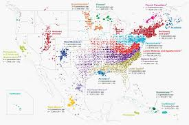 North East Map Ancestrydna Map Of North American Migrations Source In Comments