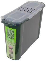 Compost Canister Kitchen Amazon Com Bosmere K779 Slim Kitchen Recycled Plastic Compost