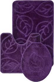 decor winsome 3 piece bathroom rug set for terrific home flooring