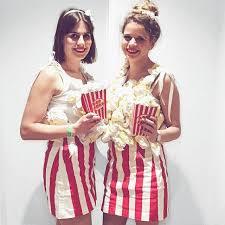 Popcorn Halloween Costume Popcorn Kostüm Selber Machen Kostüm Idee Zu Karneval Halloween