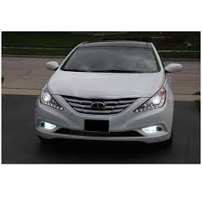 2011 hyundai sonata headlights 2013 hyundai sonata drl led projector headlights black