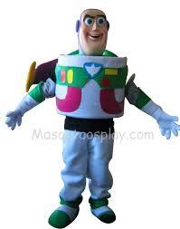 Buzz Lightyear Halloween Costume Lightyear Toy Story Mascot Costume Fancy Dress
