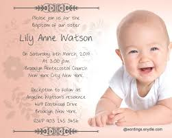 layout design for christening unique baptism invitation cards templates and sle of ptismal