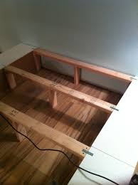 Making A Wooden Platform Bed by Simple Twin Bed Frame Blueprints Forward Thinking Furniture