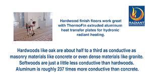Ultra Fin Radiant by Hardwood Floors Stained 50 Jacobean 50 Ebony Floors