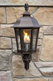 outdoor gas lantern wall light wall mounted straight open flame bavarian ls welcome guests to in
