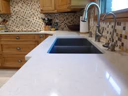 Kitchen Cabinets Salt Lake City by Voritum Silestone Quartz Countertop With An Elkay Granite