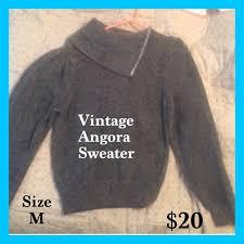 84 fabe sweaters sale vintage grey angora silk sweater
