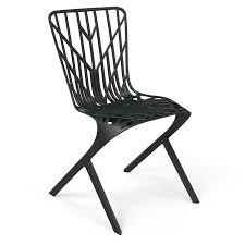 washington skeleton aluminum side chair by david adjaye knoll
