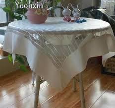 nappe de cuisine rectangulaire 83 cm moderne rectangulaire cuisine satin dentelle broderie nappe