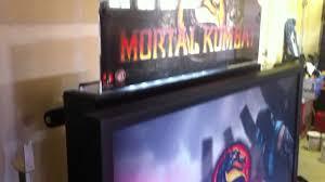 mortal kombat 9 arcade machine cabinet youtube