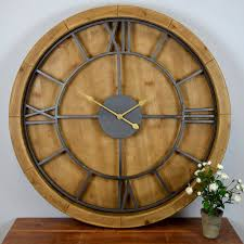 circular wood wall largest wall clock beautiful wall clocks for your home metal