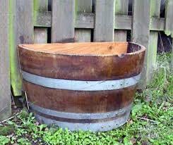 half barrel planter adastra