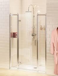 simpsons supreme 600mm plus framed pivot shower door