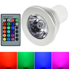 Remote Control Led Light Bulb by Mengsled U2013 Mengs Gu5 3 3w Led Rgb Light 16 Colour Changing Smd