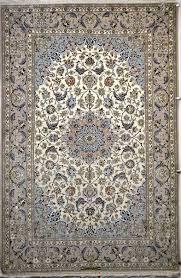 Exclusive Oriental Rugs Isfahan Silk Persian Rug Item 777