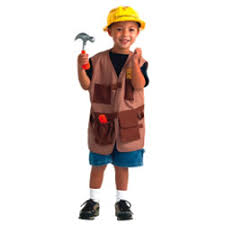 Construction Worker Costume Dramatic Play Dress Up Clothes