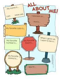 all about me worksheetstake the pen inglês para crianças
