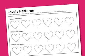 free ab pattern worksheets for kindergarten free bear counter