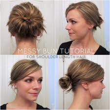 hairstyle updos for medium length hair messy updo hairstyle for medium length hair easy hairstyles updos