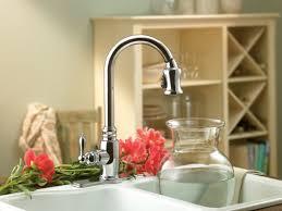 danze pull down kitchen faucet brushed nickel danze opulence kitchen faucet centerset two handle