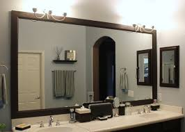 wonderful framed bathroom mirrors ideas diy bathroom mirror frame
