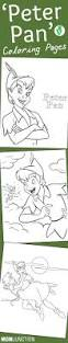 peter pan tinkerbell captain hook coloring pages kids