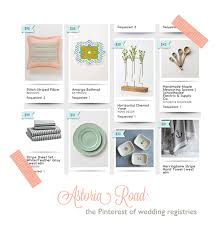 wedding regestries astoria road the of wedding registries ruffled
