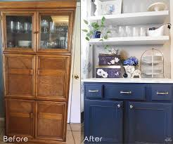 before after painted furniture buffet copy my design rules