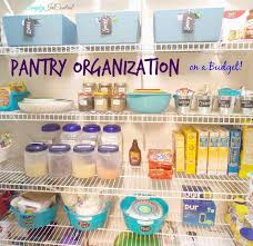 simply in control pantry organization on a budget