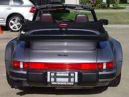 porsche 911 whale tail turbo porsche 930 turbo 1975 to 1989