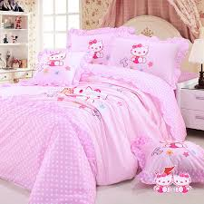 Futon Bedding Set Bedroom Full Size Bed Tent Apartment Size Sectional Hello Kitty
