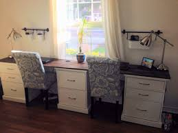 desk for two home design diy home office desk for two accessories cabinetry