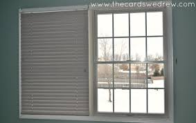 Gray Blinds Bedroom Window Update With Bali Blinds The Cards We Drew
