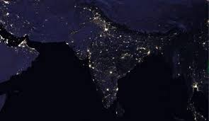 magical night wallpapers nasa images show how india looks from space at night the hindu