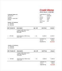 sample credit memo credit request form sample credit request form