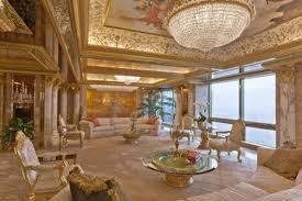 donald trump house inside inside donald and melania trump s gilded penthouse curbed ny