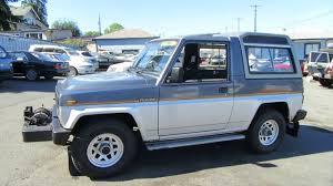 1990 daihatsu rocky daihatsu rugger 1984 diesel pto winch 1 youtube