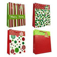 present bags allgala 12 pc premium christmas printed gift bags