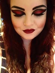 halloween make up nadine beauty forever