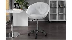 fauteuil de bureau chesterfield fauteuil de bureau chesterfield blanc en pvc réglable en hauteur