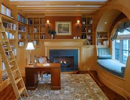 home design for book lovers this house has the perfect home office for a book lover there s a
