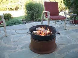 Clay Fire Pit Tractor Tire Rim Fire Pit Fire Pit Design Ideas