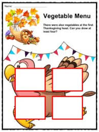 thanksgiving feast facts worksheets complete history for