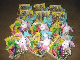 peeps easter basket soldiers germany angel sends 70 easter baskets and