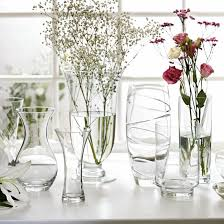 Classic Vases New Clear Glass Vases From Wilkinson Vases Ideal Home
