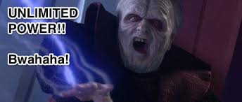 Unlimited Power Meme - who are the funniest characters in star wars franchise that are not